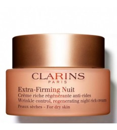 Clarins Extra Firming Nuit. Crema Noche. Piel Seca. 50ml