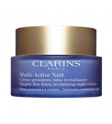 Clarins Multi-Active Nuit Légère. Piel normal a mixta. 50ml