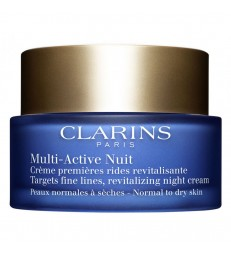 Clarins Multi-Active Nuit Confort. piel normal a seca. 50ml