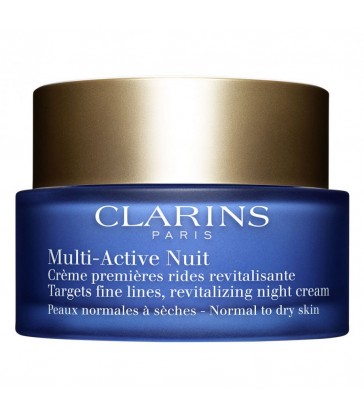 Clarins Multi-Active Nuit Confort. pelle seca. 50ml